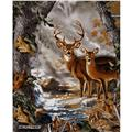 Realtree Buck & Doe Panel Multi
