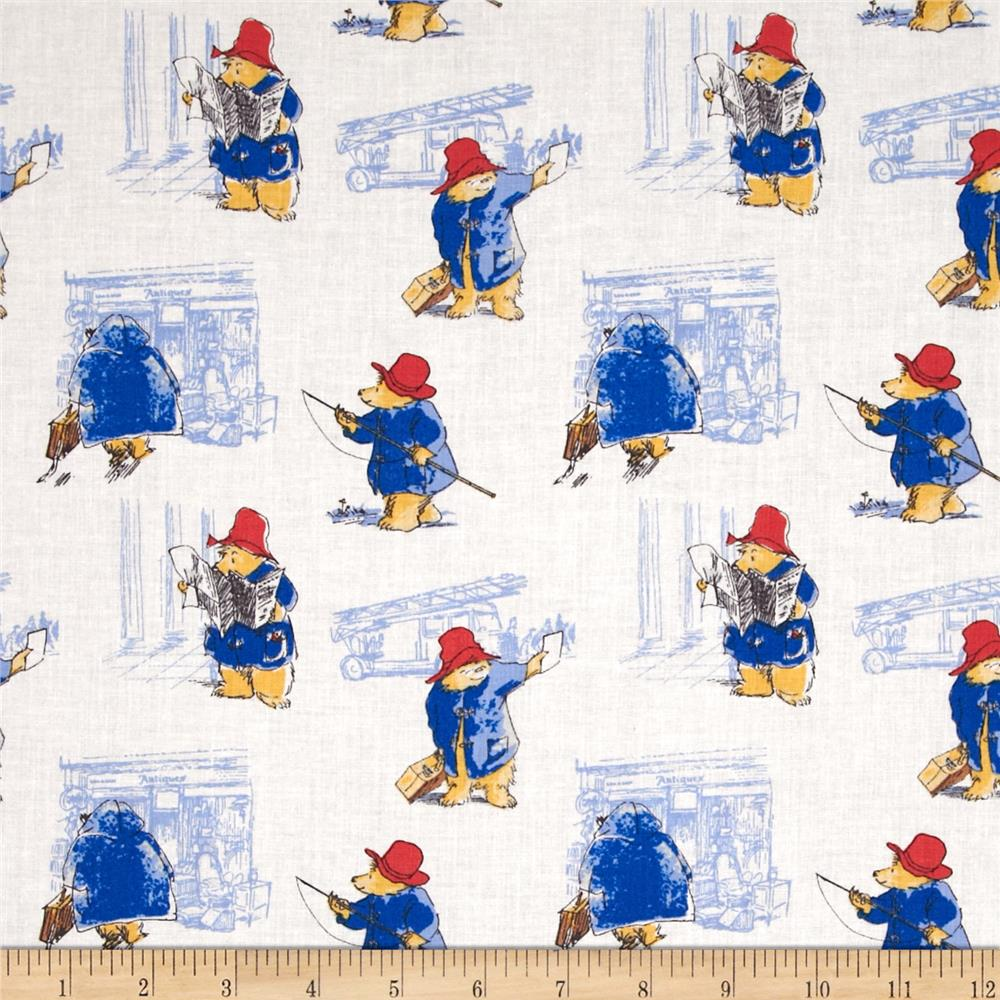 Paddington Bear Toile in Maria