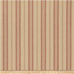 French General Biarritz Linen Rural Red