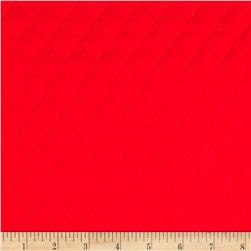 Double Sided Red Solid Quilted