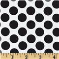 Peppermint Penguin Dot Black