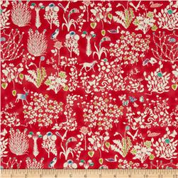 Liberty of London Yoshi Lawn Coral