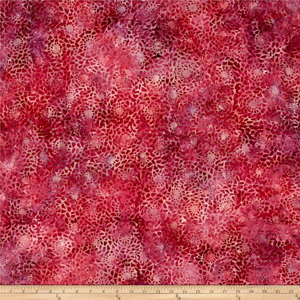 Wilmington Batiks Mosaic Raspberry
