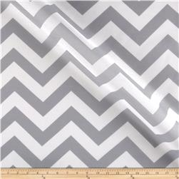 RCA Chevron Sheers Grey Fabric