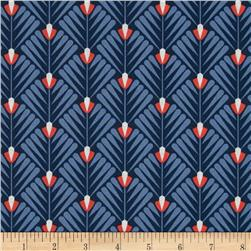 Cloud 9 Organic Wildwood Deco Petal Navy