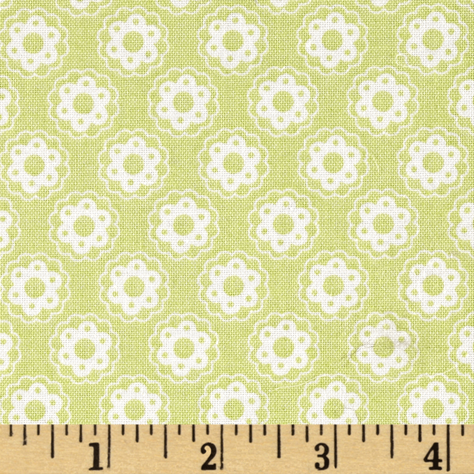 Tanya Whelan Lola Little Flower Green Fabric by Westminster in USA