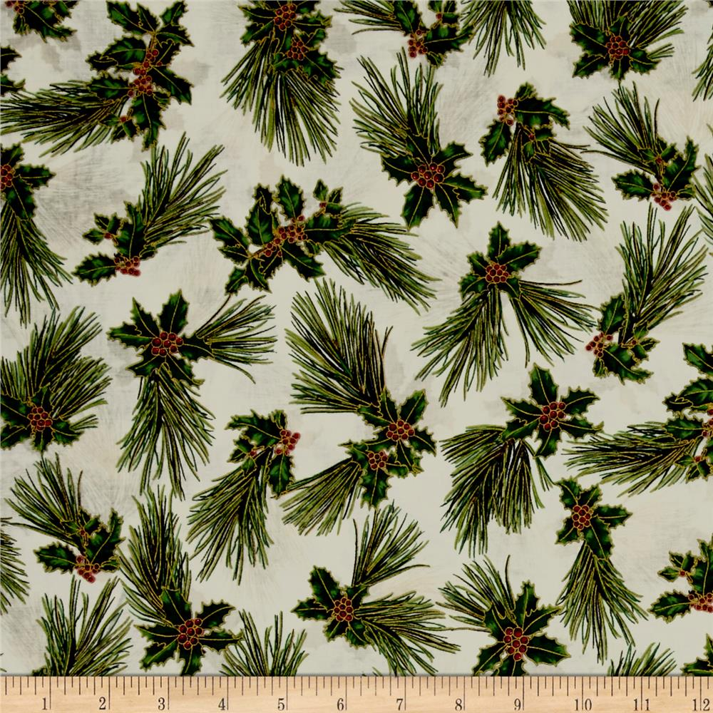 Suite Christmas Metallic Pretty Pine Sugar