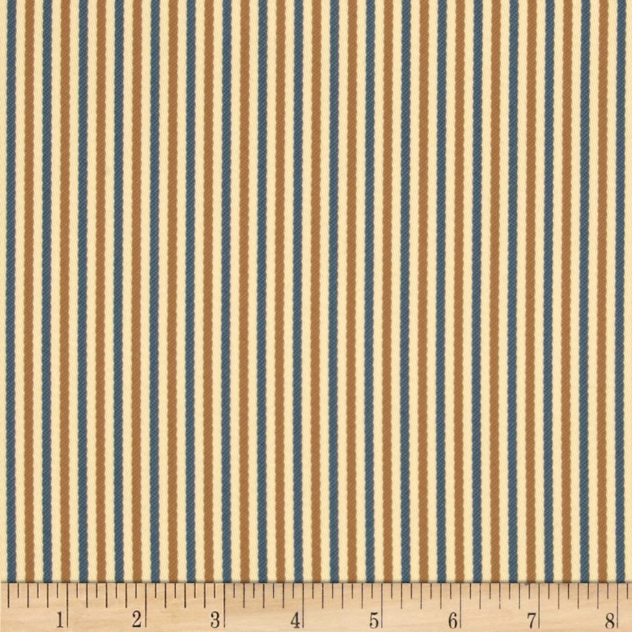 Bella-Dura Eco-Friendly Indoor/Outdoor Asbury Stripe Khaki