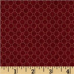 Jeanne Horton The Settlement Collection Honeycomb Red