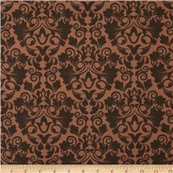 Keys Damask Toffee