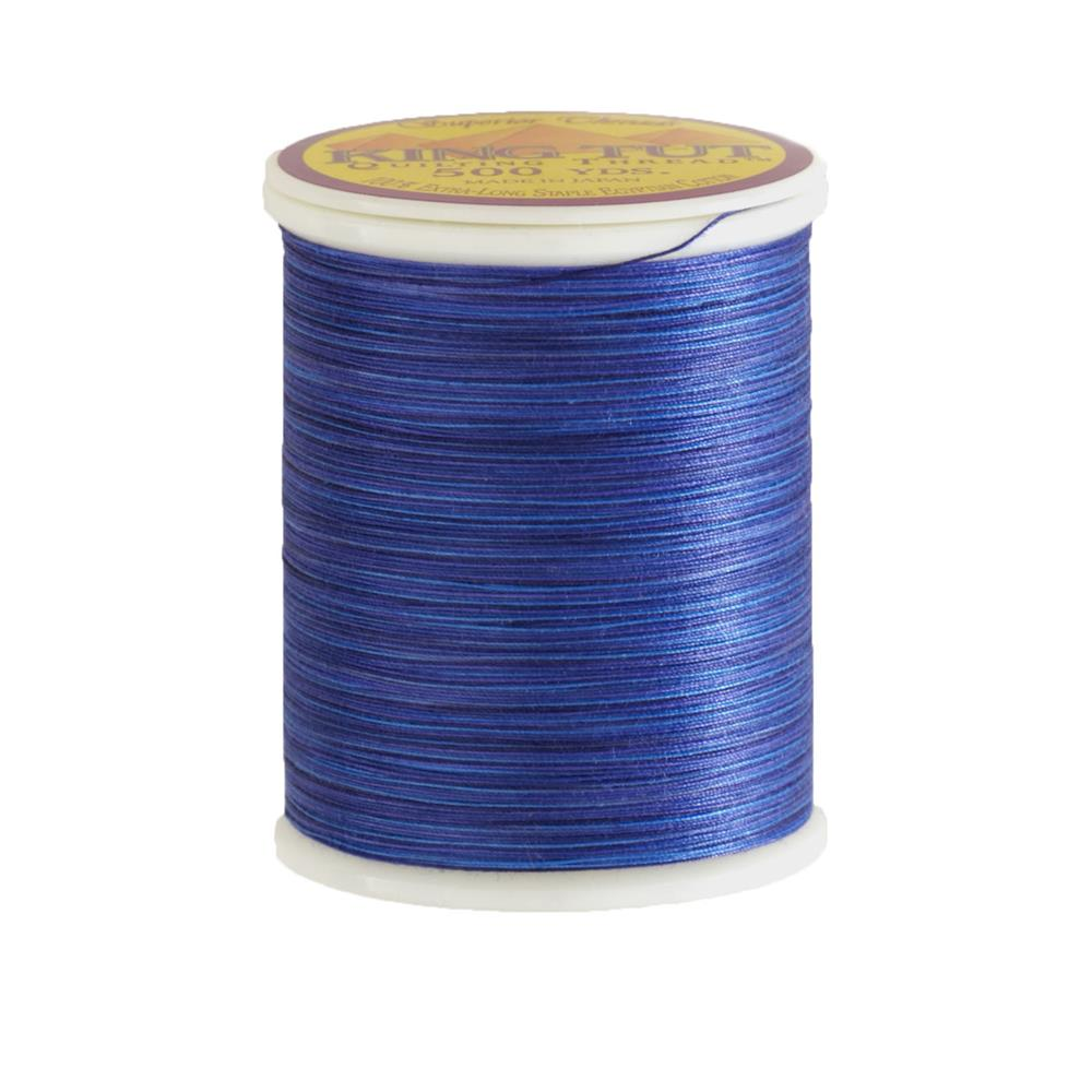 Superior King Tut Cotton Quilting Thread 3-ply 40wt 500yds Lapis Lazuli