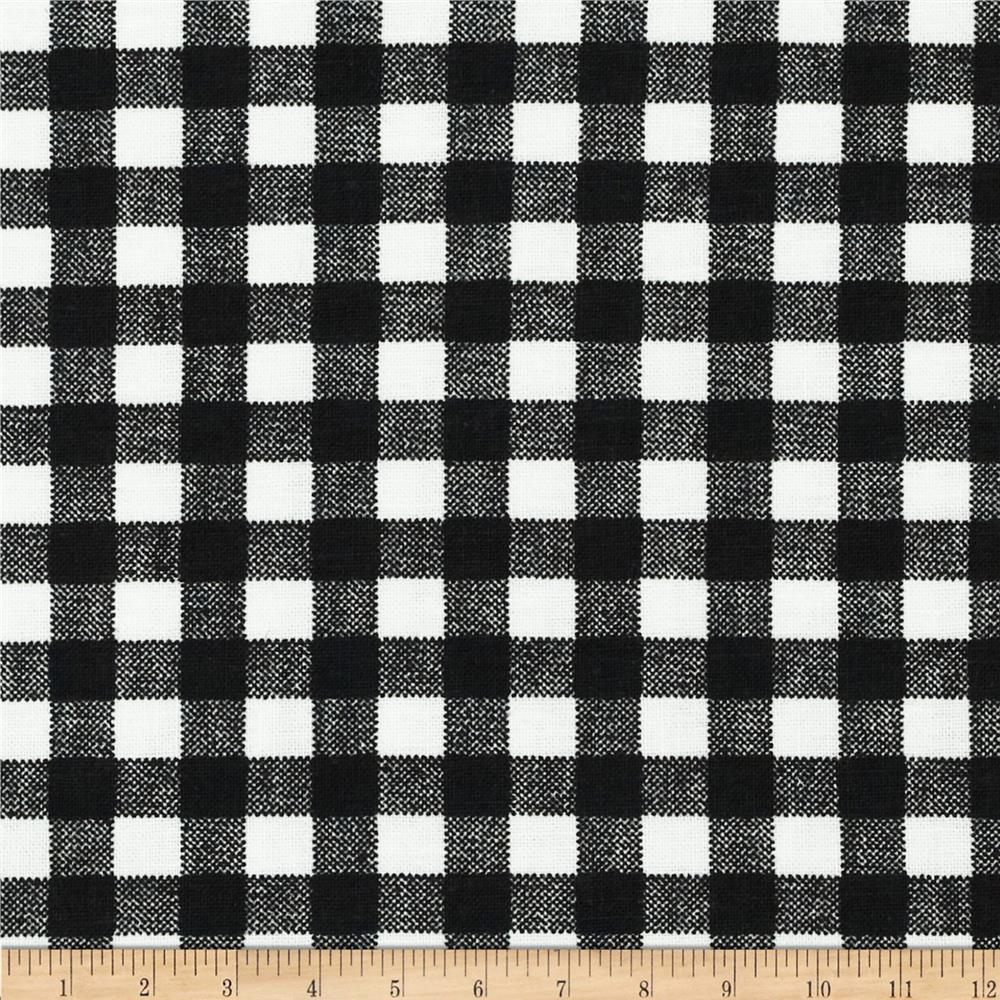 Basic Training Gingham Black/White