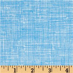 Timeless Treasures Sketch Flannel Sky Blue