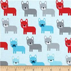 Kaufman Urban Zoology Dogs Aqua