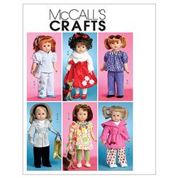 McCall's Doll Clothes For 18