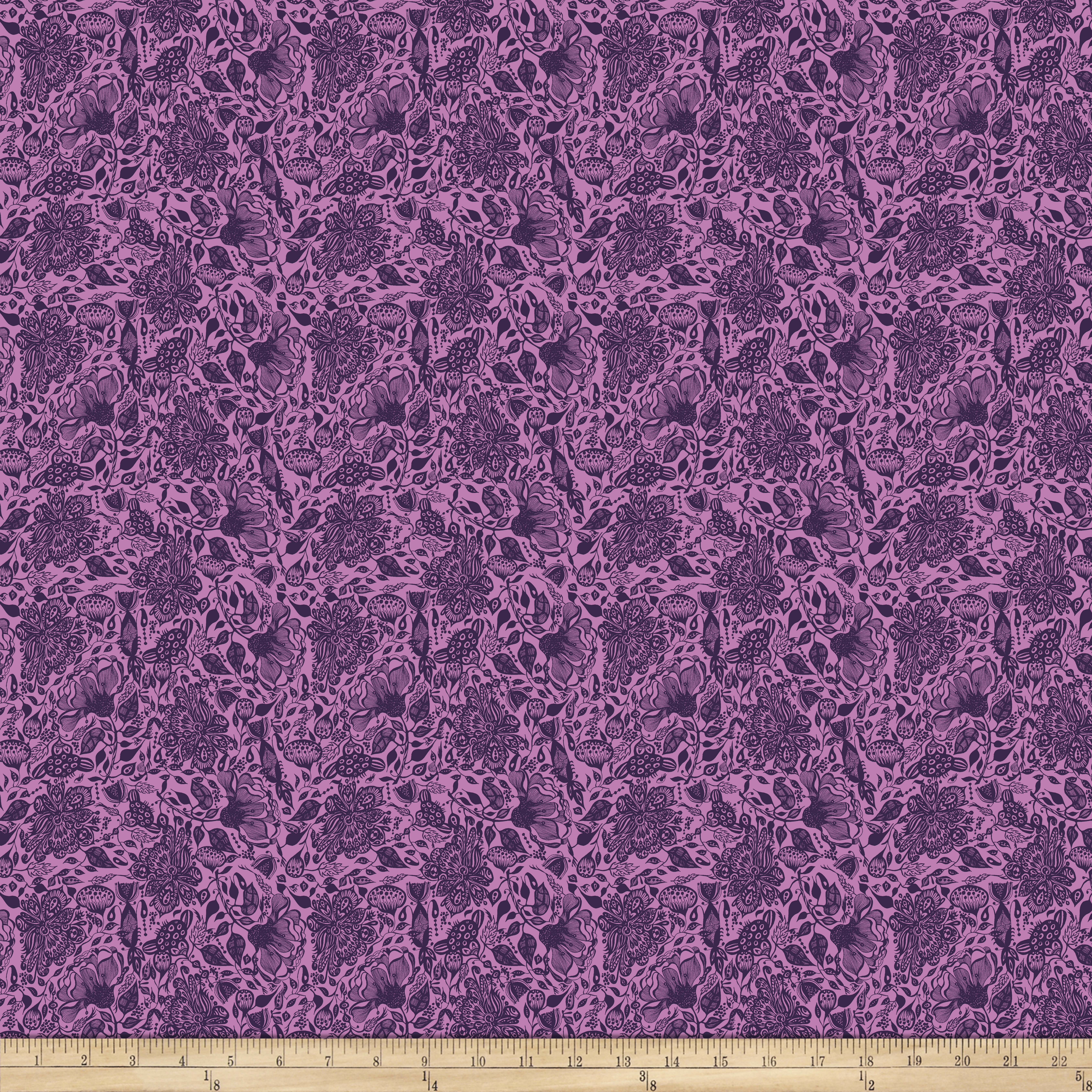 INOpets.com Anything for Pets Parents & Their Pets Garden Dreams Dream Lavender Fabric