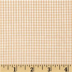 Gingham 1/16'' Checks Galore Beige