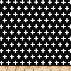 Remix Crosses Black Fabric