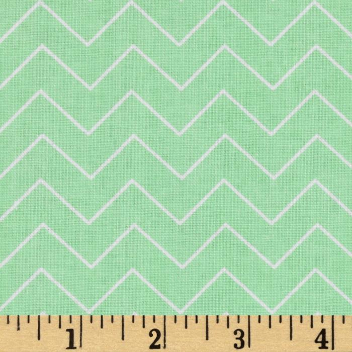 DIY Chevron Mint