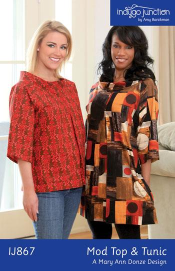 Indygo Junction Mod Top & Tunic Pattern