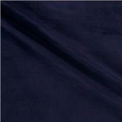 Vibrant Solids Micro Fleece Solid Dark Navy