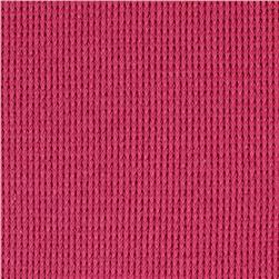 Cotton Poly Thermal Knit Hot Pink