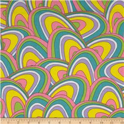 Oh The Places You'll Go! Rainbow Swirls Pink/Multi