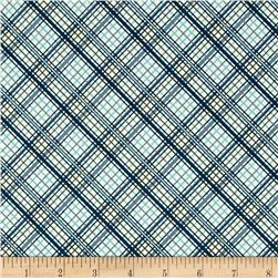 Riley Blake Offshore Plaid Blue