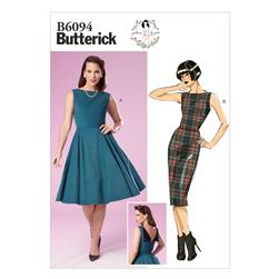 Butterick Misses' Dress Pattern B6094 Size A50