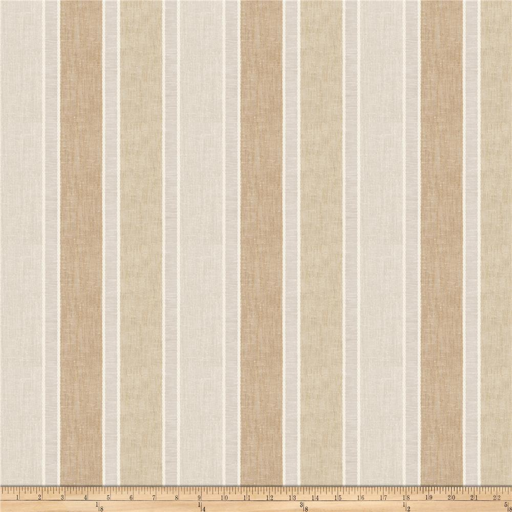"Fabricut Amya 118"" Sheer Walnut"
