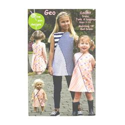 Olive Ann Designs Geo Tunic Pattern