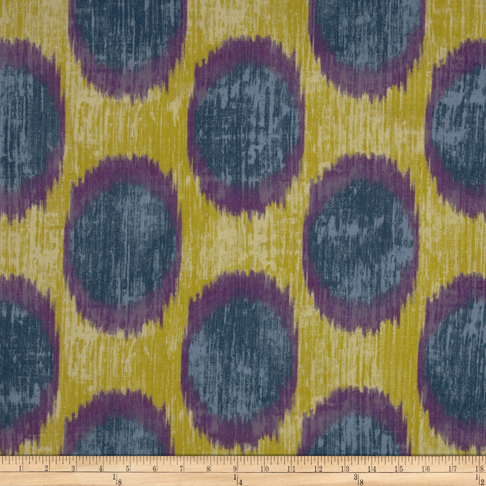 Braemore Dots Are Hot Ikat Iris