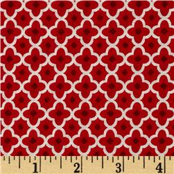VIP Small Geometric Shapes Red