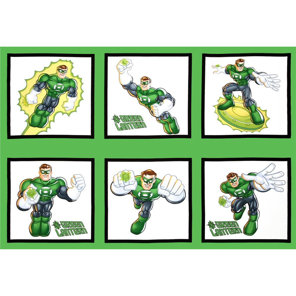 DC Super Friends Green Lantern Panel Green