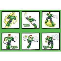 DC Super Friends Green Lantern Panel