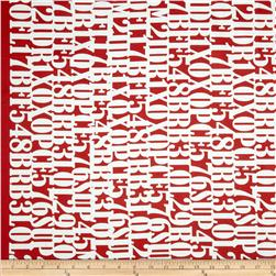 Montage Graffiti Red/White
