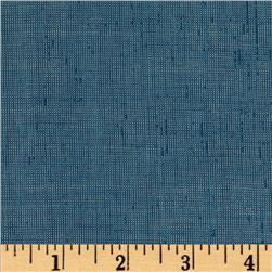Metallic Shot Cotton Blue Fabric