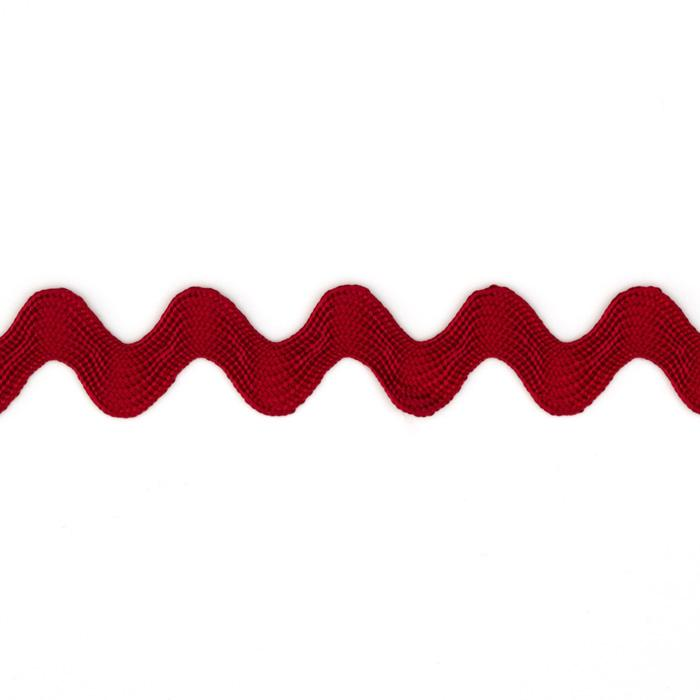 "5/8"" Ric Rac Rayon Medium Trim Red"