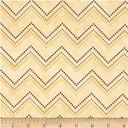 In Cahoots Chevron Ivory