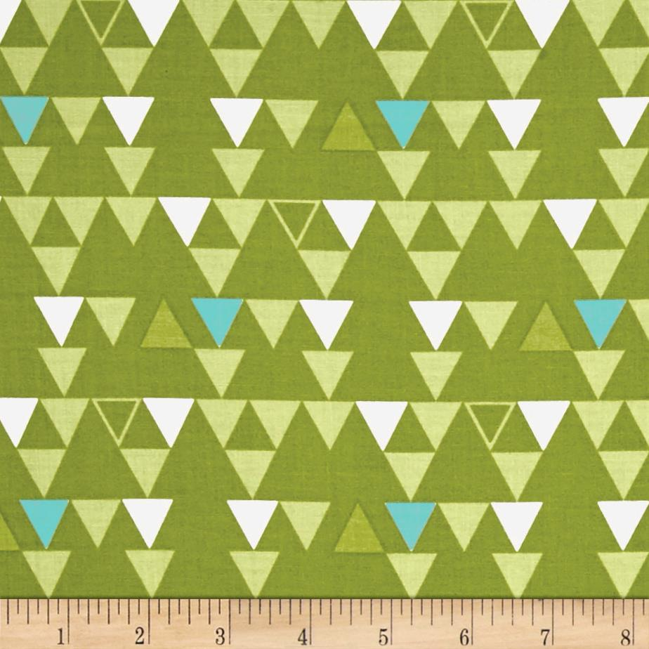 Moda Color Theory Triangles Lime