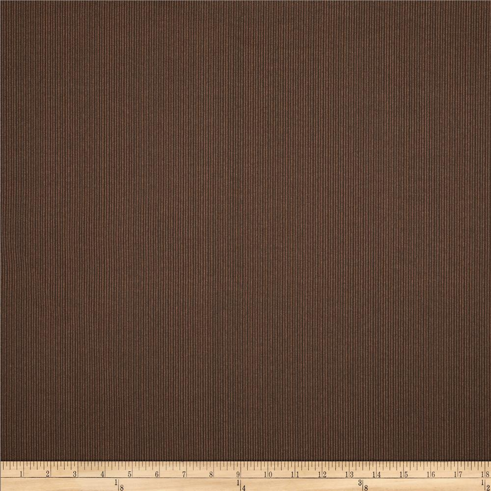 Richloom Indoor/Outdoor Fiera Stripes Chocolate