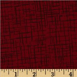 110 In. Wide Quilt Back Betula Dark Red