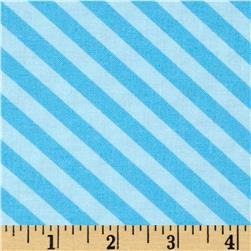 Moda Grow Grown Up Stripe Bud Blue
