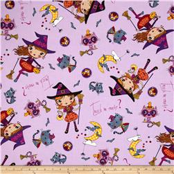Trick or Treat Witches Purple