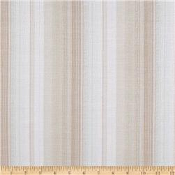 Pucker Yarn Dyed Shirting Stripes Natural