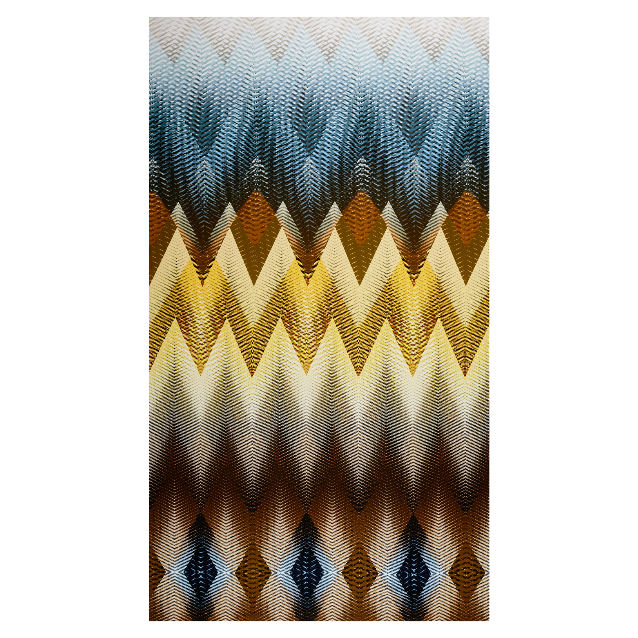 Hoffman Digital Wild Kingdom Chevron Savannah Fabric