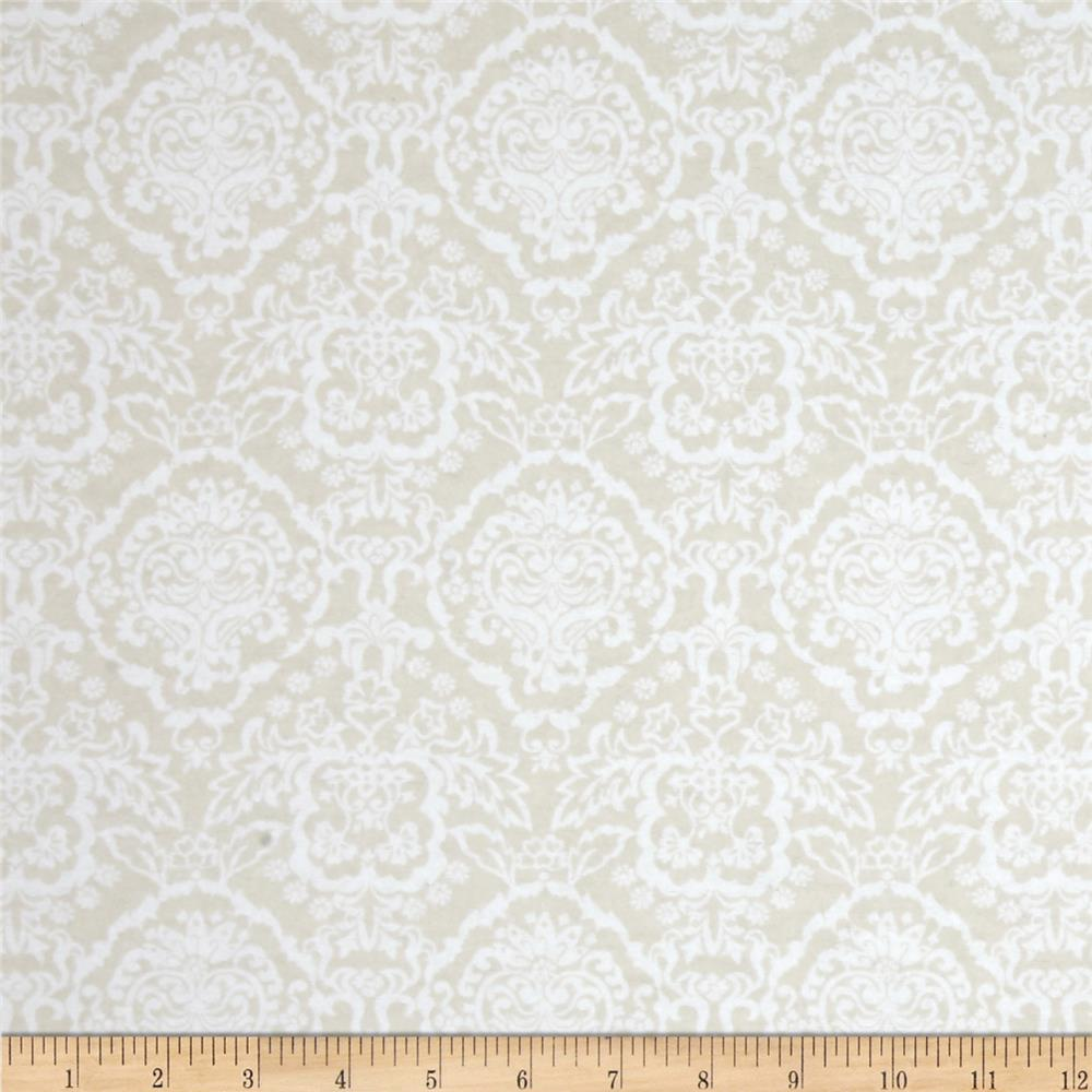 Flannelland Floral Baroque Simply Sand