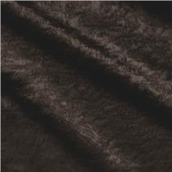 Urban Home Ripple Plush Fur Dark Chocolate