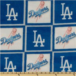 MLB Fleece Los Angeles Dodgers Blue/White
