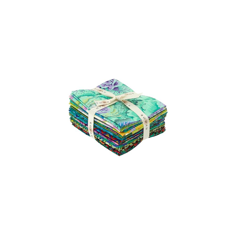 CLASSICS BY KAFFE FASSET FAT QUARTERS GREEN